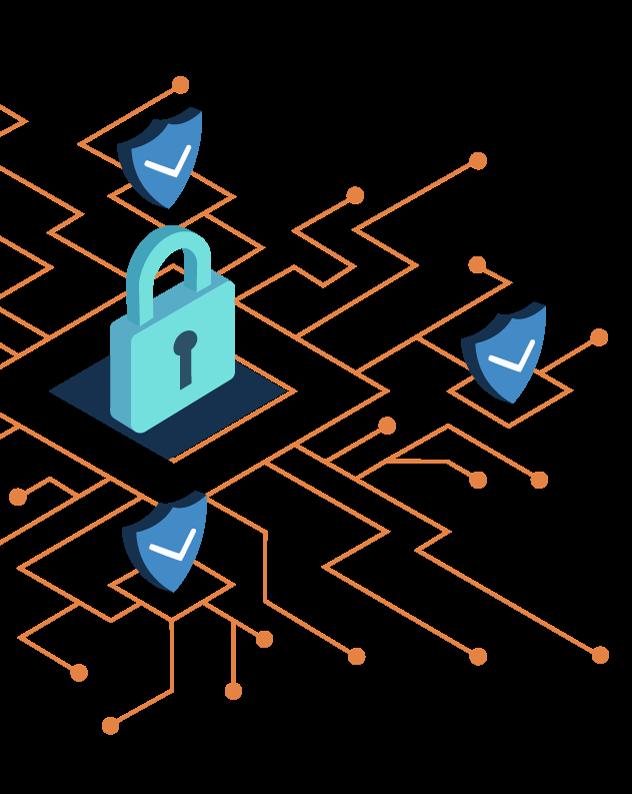 Cyber sécurité WAN VPN, Firewall, Antivirus, Antispam, Cryptage des données et des disques durs, Protection contre les ransomwares
